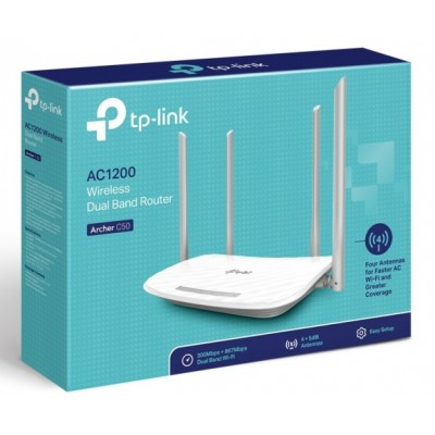 Router Wireless Dual Band AC1200 Archer C50
