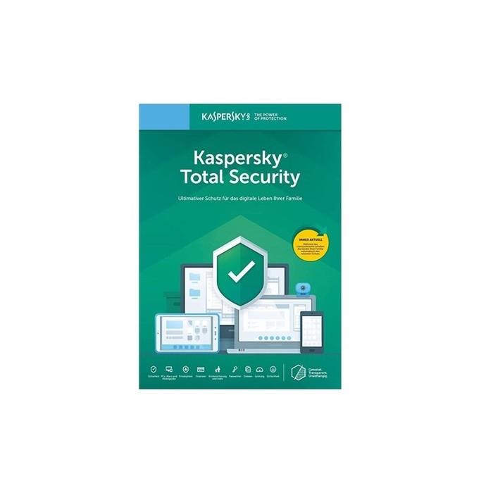 Kaspersky Total Security 5PC 1Anno ESD
