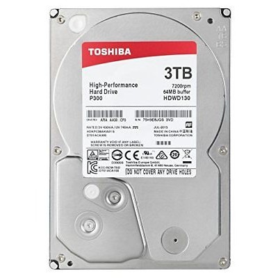 "HD3,5"" 3000GB Toshiba SATA3 P300"
