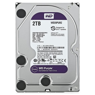 "HD3,5"" 2000GB WD PURPLE WD20PURZ"