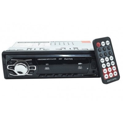 AUTO RADIO FM MP3 SD USB AUX 4207