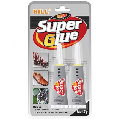 COLLA RILL SUPER GLUE 2PZ