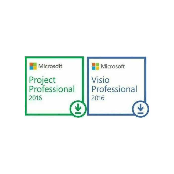 MICROSOFT OFFICE VISIO & PROJECT 2016 PROFESSIONAL