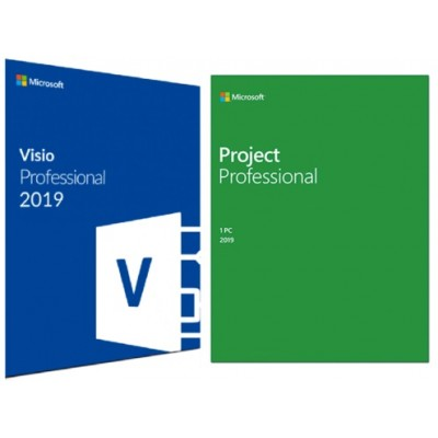 OFFICE VISIO & PROJECT 2019 PROFESSIONAL