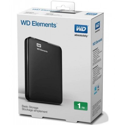 HDD USB3.0 2,5 1TB WD ELEMENTS