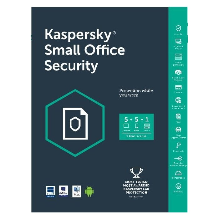 Kaspersky Small Office Security 1 Server 5 PC 5 Mobile