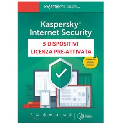 Kaspersky Internet Security 2021 3PC 365G