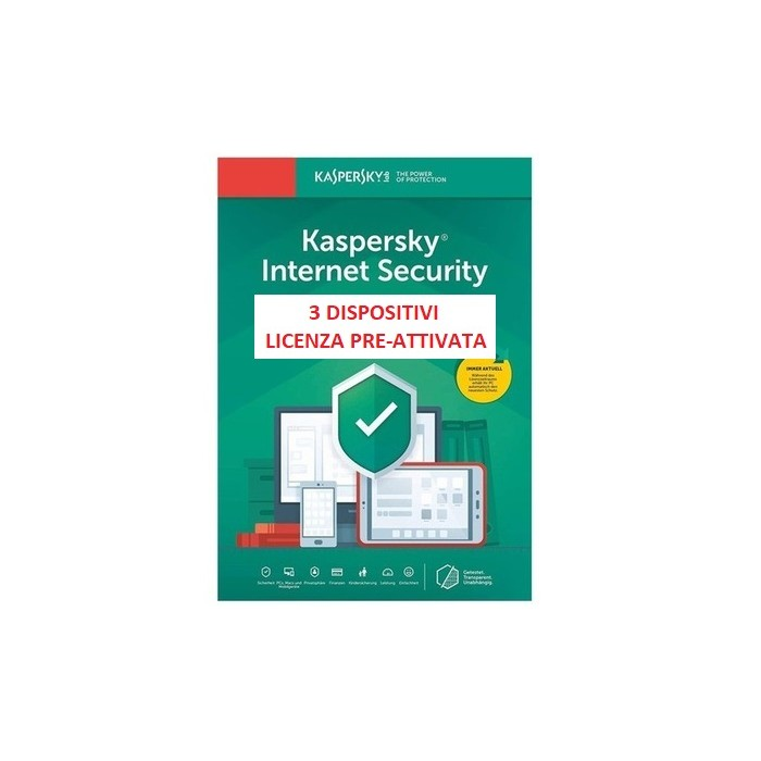 Kaspersky Internet Security 2020 3PC 365G