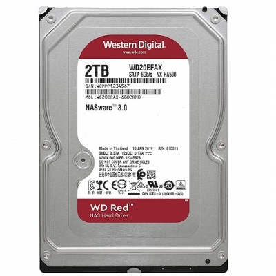 "HD3,5"" RED WD20EFAX 2TB SATA3"