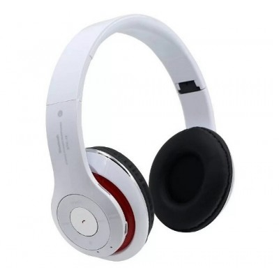 STEREO HEADPHONES BLUETOOTH WHITE
