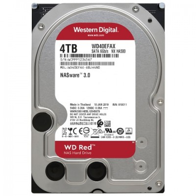 "HD3,5"" RED WD40EFAX 4TB SATA3"