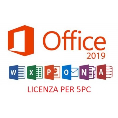 OFFICE 2019 PROFESSIONAL PLUS 5PC
