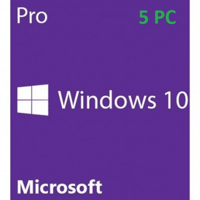 Windows 10 Professional 5PC