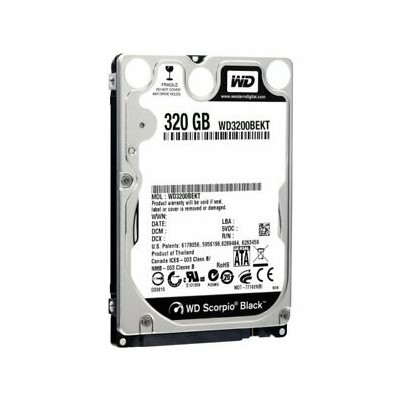 "HD2,5"" 320GB WD BLACK"