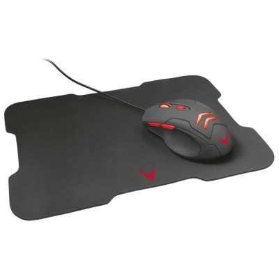 VARR GAMING SET MOUSE + MOUSEPAD C2