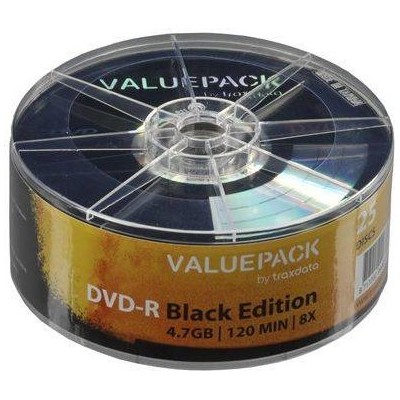 DVD-R 4,7GB 8X 25PZ WRAP