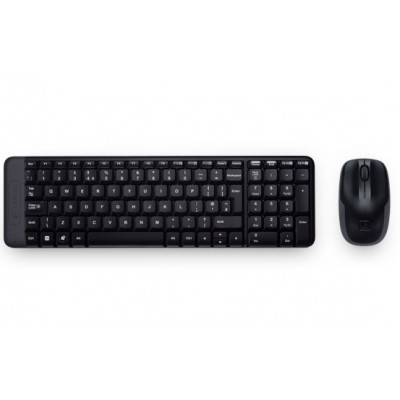 Tastiera e mouse Logitech Wireless MK220