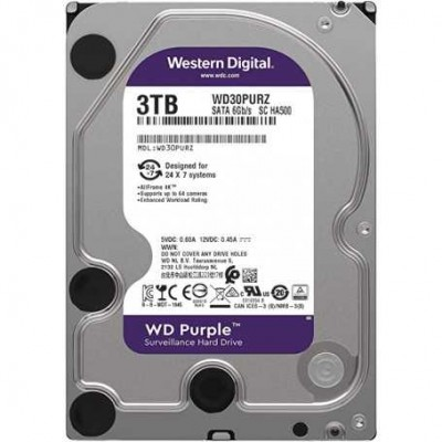 "HD3,5"" 3000GB WD PURPLE WD30PURZ"