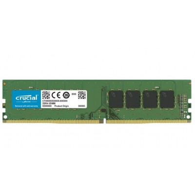 Simm DDR4 PC2666 16GB CL19 Crucial