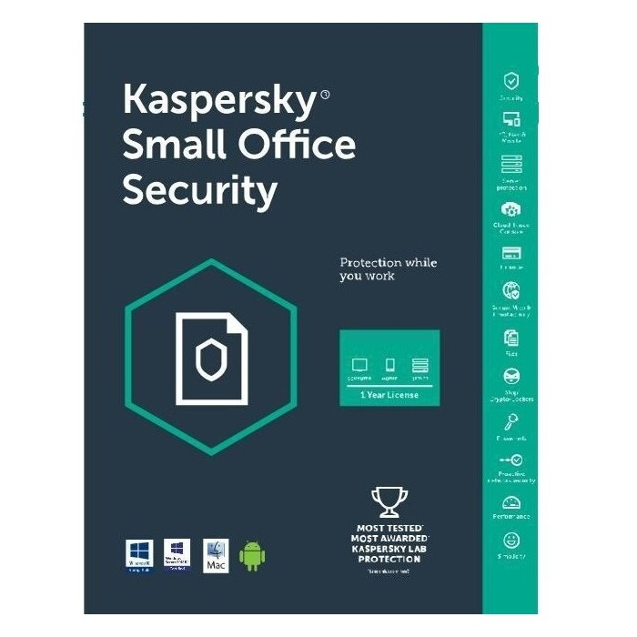 Kaspersky Small Office Security 2 Server 15 PC 15 Mobile