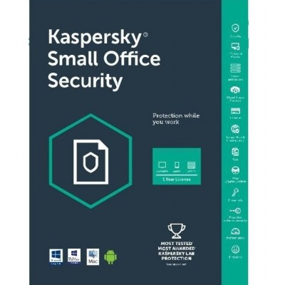 Kaspersky Small Office Security 3 Server 25 PC 25 Mobile