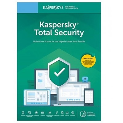 Kaspersky Total Security 2021 1PC 1Anno ESD