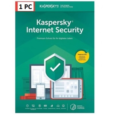Kaspersky Internet Security 1PC 1Anno ESD