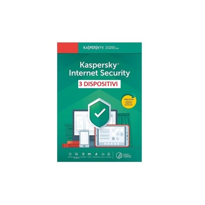Kaspersky Internet Security 3PC 1Anno ESD