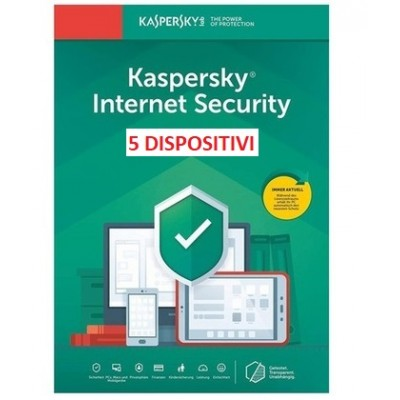 Kaspersky Internet Security 2021 5PC 1Anno ESD