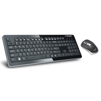 TASTIERA MULTIMEDIALE + MOUSE WIRELESS TECNO TC-920W