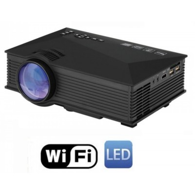 VIDEO PROIETTORE LED WIFI 1200 LUMENS HD PORTATILE