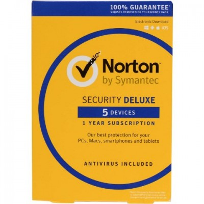 Norton Security Deluxe 5PC 1Anno ESD