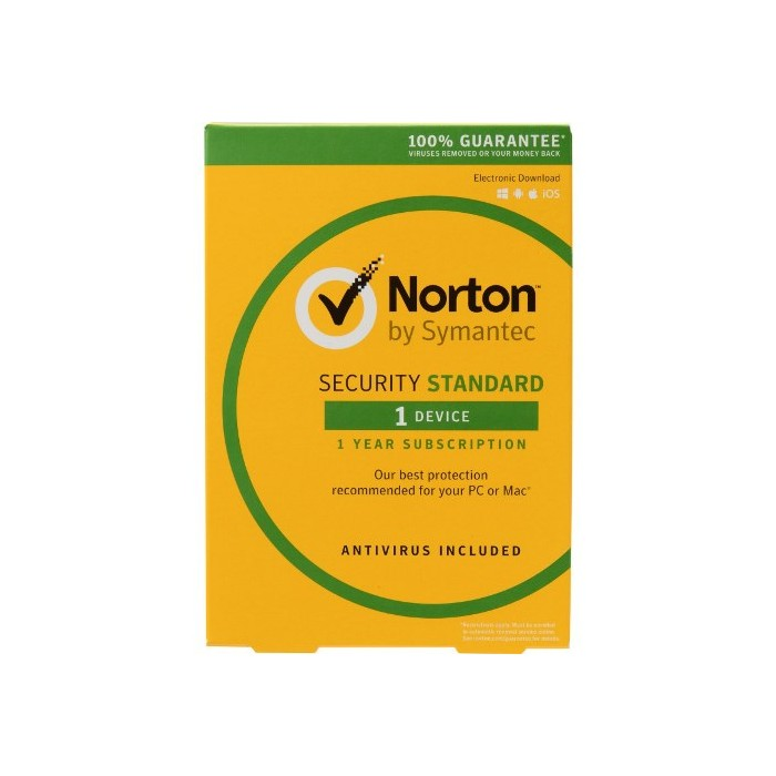 Norton Security Standard 1PC 1Anno ESD