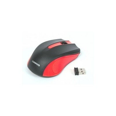 MOUSE OMEGA OM-419 WIRELESS 2,4GHz 800/1600DPI ROSSO